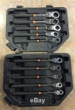 Matco (SRF102P) 10 Piece 1/4 to 3/4 SAE Flex Wrench Ratcheting Set