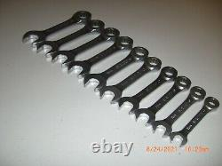 Matco Tools 10 Piece Stubby Metric Ratcheting Wrench Set 10mm 19mm