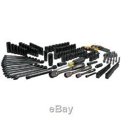 Mechanics Tool Kit DEWALT 181 Piece Set Sockets / Ratchet / Wrenches