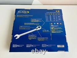 NEW Blue-Point 12pc Spline Drive Ratcheting Combination Wrench Set BPOERMSP712