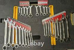 NEW Husky 30 Piece SAE/MM Ratcheting Wrench Set with Stubby