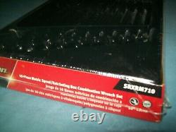 NEW Snap-on 10 to 19 mm 12-pt Flank Drive Ratcheting Speed Wrench Set SRXRM710