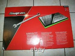 NEW Snap-on Flank drive Plus Wrench Set SOEXFSET1B 7 to 25 mm 1/4 thru 1 5/16
