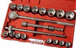 Neilsen 3/4 Drive Jumbo Socket Wrench Ratchet Set Metric 19-50mm / 0149