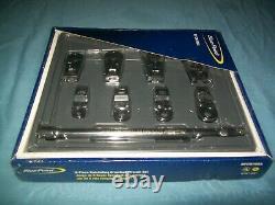 New Blue-Point 3/8 drive 5/16 thru 3/4 Ratcheting Crowfoot Set BFCR708A