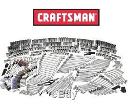 New Craftsman 540-piece Mechanics Tool Set with 84T Ratchet Ratcheting Wrench