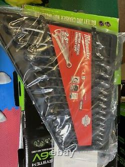 New Milwaukee 48-22-9516 Metric Ratcheting Combination Wrench Set 15 PC