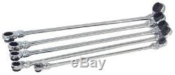 Platinum XXL METRIC & SAE Reversible Ratcheting Spline Wrench sets #99650, 99750
