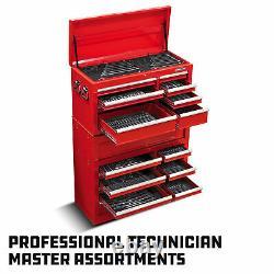Powerbuilt 11 Piece Pro Tech SAE Reversible Ratcheting Combination Wrench Set