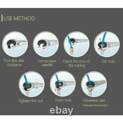 RatchetFix Tubing Wrench Set Ratcheting Flex Head 72-Tooth Car Repair Hand Tools