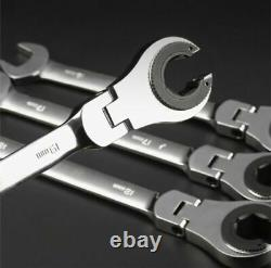 RatchetFix Tubing Wrench WithMovable Head Car/Air Conditioner Tubing Repair Tool