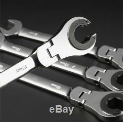 RatchetFix Tubing Wrench with Flexible Head Car Hand Repair Tools High Quality