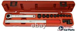 Ratcheting Serpentine Belt Wrench Set T&E Tools J4106
