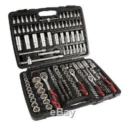 STIER Socket and Bit Driver Set 179 pieces Ratchet Wrench Spanner Tool Bit