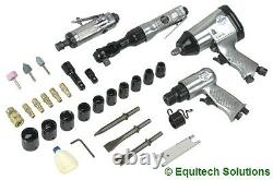 Sealey SA2004KIT Air Tool Impact & Ratchet Wrench Die Grinder Hammer Sockets New