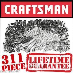 Sears Craftsman 311 pc Mechanics Tool Set #35311 Sockets Ratcheting Wrenches