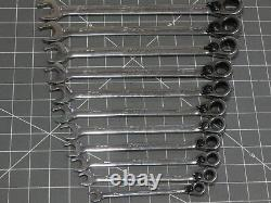 Snap On Metric Flank Dr Plus Ratcheting Wrench Set 10Pc + 8MM 11Pc 10MM 19MM
