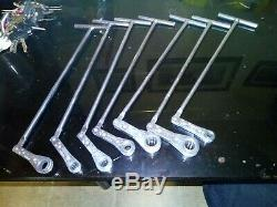 Snap-On SAE 12 Point T-handle Ratcheting Box Wrench Set 1/4- 9/16 (7 Pcs.)