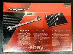 Snap-On Tools 14pc Metric Ratcheting Combination Wrench Set (SOXRRM01FBRA)