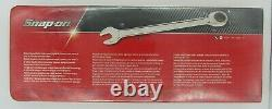 Snap-on Tools 4pc Ratcheting Box End Wrench Set Sae 13/16 1 Oxr704 Sealed New