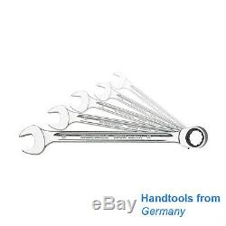 Stahlwille 96411705 Combination ratcheting spanners, 8 19 mm, 5 pieces