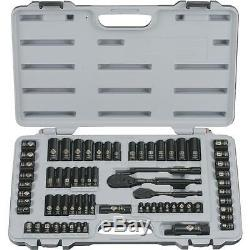 Stanley Black Chrome Socket Set