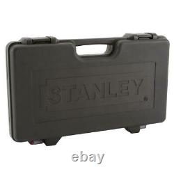 Stanley Black Chrome Socket Set (69 Piece) ratchets sockets and carrying case