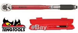 TENG TOOLS 3892AG-E3 3/8 Drive Torque Wrench 20-100Nm & Protective Case