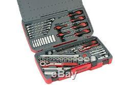 Teng Tools 1/4 1/2 Drive Sockets Ratchets Extensions Tool Set
