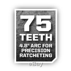Tool Ratchet Set Mechanic Ratcheting Garage Kit Socket Wrench Torx Case 311 PC