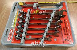 USA CRAFTSMAN CROSS FORCE Reversible Ratcheting Wrench Set METRIC RARE 7
