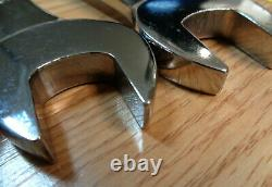 USA CRAFTSMAN CROSS FORCE Reversible Ratcheting Wrench Set SAE INCH RARE 7