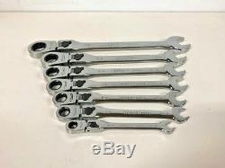 USA CRAFTSMAN Ratcheting Wrench Locking Flex Head Standard Set 7 piece ratchet