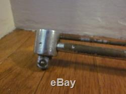 Vtg CRAFTSMAN Torque Wrench Speeder Ratchet Extension Tool Set Lot 1/4 3/8 1/2