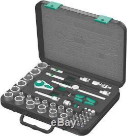 WERA 05003594001 3/8 Drive Socket Wrench Set, Metric, 43pcs