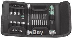 Wera 05051045001 Kraftform Kompakt Zyklop Speed Ratchet Socket and Bit Set