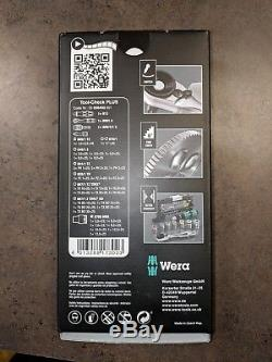 Wera 056490 Tool-Check Plus Bit Ratchet Set with Sockets Metric