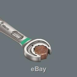 Wera 6001 Joker Switch Ratcheting Combination Wrench Set 8 Piece SAE 05020093001