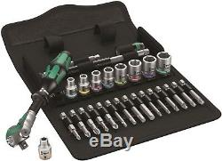 Wera 8100 SA 9 Zyklop Speed Ratchet Set 1/4 Drive Imperial 05004019001