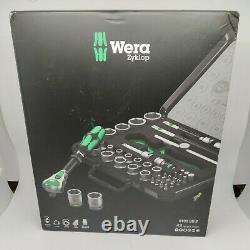 Wera 8100 Sb 2 Zyklop 3/8 Metric Ratchet Set Piece Of 43