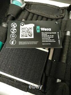 Wera KK Zyklop Speed 26PC Ratchet Socket and Bit Set with pouch (Metric)
