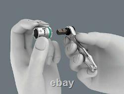Wera Tool Check 1 SB Mini Bit Ratchet 1/4 Socket Wrench Metric Set 38 Pc