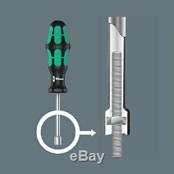 Wera Tool Plumbkit Ratchet Wrench Screwdriver Insulated Socket Bit Set 19 Pc