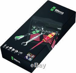 Wera screwdriver socket wrench bits set Kraftform Kompakt W 1 05135926001