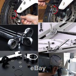 12 × Outil De Réparation Automatique De Clé De Clé À Cliquet Métrique Principale Flexible 8-19mm