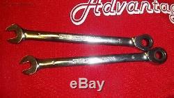 25 Pc T & E Heavy Duty Métrique Ratcheting Combinaison Jeu De Clés 13025a