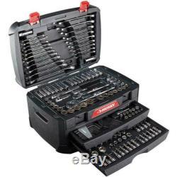 268 Mécanique Piece Jeu D'outils Avec Husky Boîte De Rangement Tiroir Case Socket Sae Métrique