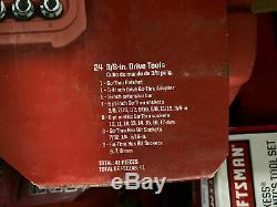 41pc Artisan. Piece Max Axess, Go-thru Socket Wrench Set