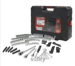 Artisan 230 Piece Argent Finition Mécanique Métrique Standard Ensemble D'outils 230pc 70190