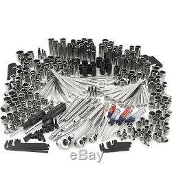 Artisan 325 Set De Mécanicien Outil Facile À Lire Avec 3 Pouces Tailles D'entraînement / Métrique